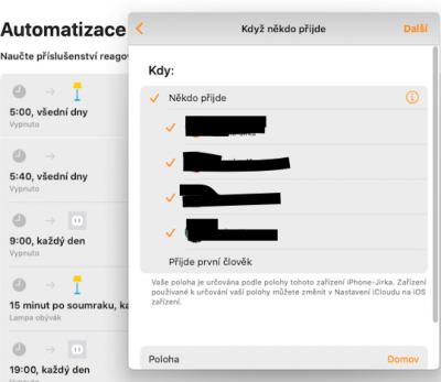 Pomoc Apple začátečníkům • Re: HomeKit a rodina